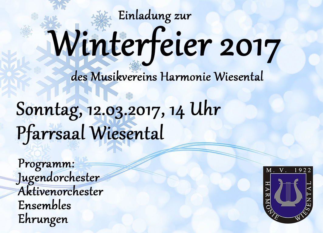 "Musikverein ""Harmonie"" Wiesental e V"